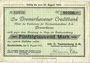 Banknotes Geestemünde. Joh. C. Tecklenborg A.G. -Schiffswerft und Maschinenfabrik. Billet. 50 000 mk 31.8.1923