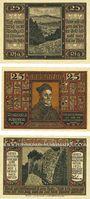 Banknotes Geisa i. Rhön. Stadt. Billets. 25 pfennig 1921 (3ex)