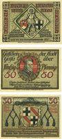 Banknotes Geisa i. Rhön. Stadt. Billets. 50 pfennig 1921 (3ex)