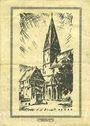 Banknotes Geislingen a. Steige. Stadtgemeinde. Billet. 100 millions de mark 12.10.1923