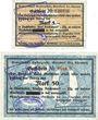 Banknotes Gersdorf. Gewerkschaft Kaisergrube. Billets. 5, 50 mark n.d. - 31.12.1918