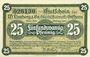 Banknotes Gifhorn. Limberg & Co. Glasshuttenwerk. Billet. 25 pf 1.9.1918