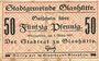 Banknotes Glashütte. Stadt. Billet. 50 pf 1.3.1917
