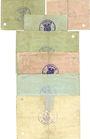 Banknotes Glashütte. Stadt. Billets. 1 mk, 2 mk, 3 mk, 5 mk, 10 mk, 20 mk, 50 mk. Annulation par perforation