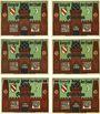 Banknotes Glauchau. Stadt. Série de 6 billets. 50 pf 1.5.1921