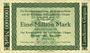 Banknotes Glogau (Glogow, Pologne). Kreisausschuss des Landkreis. Billet. 1 million mark 11.8.1923