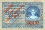 Banknotes Glogau (Glogow, Pologne). Stadt. Billet. 50 millions de mk surchargé /1 000 mark du 19 oct 1922