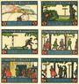 Banknotes Goch. Stadt. Série de 6 billets. 50 pf  (2ex), 75 pf (4ex) 1.1.1922