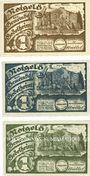 Banknotes Godelheim. Gemeinde. Billets. 1 mark (3ex) 10.5.1921