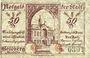 Banknotes Goldberg. Stadt. Billet. 50 pf 20.11.1919 (1921)