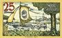 Banknotes Gollnow (Goleniow, Pologne). Stadt. Billet. 25 pf 31.1.1921