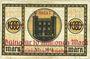 Banknotes Göppingen. Amtskörperschaft. Billet. 10 millions mark surchargé (1923) sur 1000 mark du 16 oct 1922