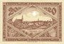 Banknotes Görlitz (Zgorzelec, Pologne). Stadt und Handelskammer. Billet. 20 mark 1.11.1918