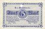 Banknotes Görlitz (Zgorzelec, Pologne). Stadt und Handelskammer. Billet. 5 mark 18.10.1918