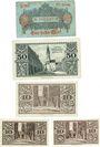Banknotes Görlitz (Zgorzelec, Pologne). Stadt und Handelskammer. Billets. 1/2 mk, 50 pf, 10 pf(3ex)