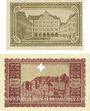 Banknotes Görlitz (Zgorzelec, Pologne). Stadt und Handelskammer. Billets. 1 mark, 2 mark 15.11.1918