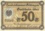 Banknotes Göttingen. Handelskammer. Billet. 50 pf 26.4.1917, (1. Auflage)