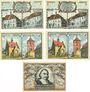 Banknotes Gräfenhainichen. Stadt. Billets. 10 pf P et D, 25 pf HERRN et ER, 50 pf I n.d. - 31.5.1921