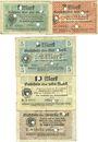 Banknotes Grätz (Grodzisk Wlkp, Pologne). Kreis. Billets. 1, 2, 5, 10, 20 mar 10.11.1918