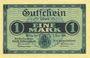 Banknotes Greiz. Stadt. Billet. 5 mark 2.11.1918, série II