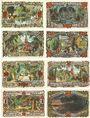 Banknotes Groß-Flottbek. Gemeinde. Billets. 10, 20, 25, 30, 50, 75 pf, 1, 2 mark 1.8.1921
