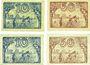 Banknotes Großenhain. Amtshauptmannschaft. Billets. 10 pf, 50 pf  - 31.12.1919, 10 pf, 50 pf  - 31.12.1920
