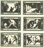 Banknotes Grünberg (Zielona Gora, Pologne). Stadt. Série de 6 billets. 75 pf (6ex) (1921) - 31.12.1921