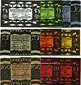 Banknotes Güstrow. Stadt. Série de 9 billets. 50 pf (3ex), 75 pf (3ex), 100 pf (3ex) 1.2.1922