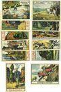 Banknotes Halle a. d. Saale. Notgeldausstellung. Série de 12 billets. 50 pf (12 ex)  6-13.11.1921