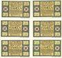 Banknotes Hameln. Stadt. Série de 6 billets. 75 pfennig (6ex) 1.9.1921