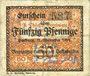 Banknotes Harburg. Thörl's F.. Vereinigte Harburger Oelfabriken. Billet. 50 pf 11.11.1918