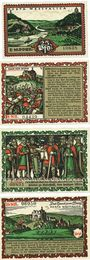 Banknotes Hausberge a. Weser. Amtssparkasse. Billets. 25 pf (50 pf (3ex) janvier 1921