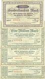 Banknotes Heidelberg. Stadt. Billets. 100000 mark, série C, 1.8.1923, 100000 mark ,série A, B, C, 8.8.1923
