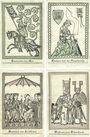 Banknotes Heidelberg. Stadt. Billets. 5 millions mk série A, B, 10 millions mk série A, B 3.9.1923