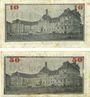 Banknotes Herford. Stadt. Billets. 10 pf, 50 pf 1.6.1917