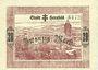 Banknotes Hersfeld. Stadt. Billet. 20 mark 4.11.1918