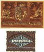 Banknotes Hirschberg a. Saale. Stadt. Billets. 25 pf 28.2.1921, 10 pf 31.3.1921