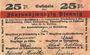 Banknotes Hirschberg i. Schlesien (Jelenia Gora, Pologne), Handelskammer und Städte. Billet. 25 pf n.d.