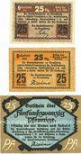 Banknotes Hirschberg i. Schlesien (Jelenia Gora, Pologne), Handelskammer und Städte. Billets. 25 pf (3ex)