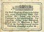 Banknotes Homburg. Stadt. Billet. 10 pf 1.4.1917