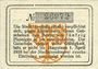 Banknotes Homburg. Stadt. Billet. 50 pf 1.4.1917