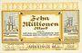 Banknotes Hörde. Stadt und Landkreis. Billet. 10 millions mark 1.9.1923