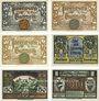 Banknotes Ilsenburg. Gemeinde. Billets. 10 pf (3ex), 25 pf, 50 pf (2ex) 1.6.1921