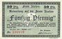 Banknotes Itzehoe. Stadt. Billet. 50 pf 15.5.1917