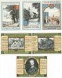 Banknotes Itzehoe. Stadt. Billets. 50, 75, 100 pf n.d. - fin sept 1921, 50, 75, 100 pf n.d. -30.9.1921