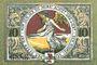 Banknotes Jacobshagen (Dobrzany, Pologne). Stadt. Billet. 10 pf 1920