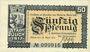 Banknotes Jülich. Stadt. Billet. 50 pf 16.4.1917