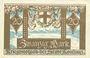 Banknotes Konstanz. Stadt. Billet. 20 mark novembre 1918