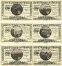 Banknotes Kahla. Leuchtenburg-Wirtschaft. Billets. 50 pf 15.6.1921 6ex), 3e série : Châteaux de Thuringe