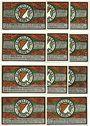 Banknotes Kahla. Sportverein. Série de 11 billets. 50 pf (6ex), 75 pf (6ex) n. d. - 1.7.1922